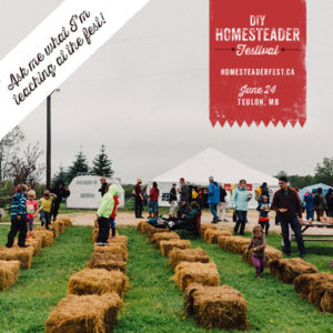 DIY Homesteaderfest 2017