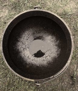Large Cauldron - top