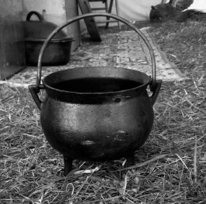 Cauldron with Feet